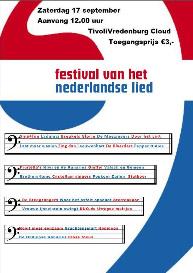 Festvial Nederlandse Lied